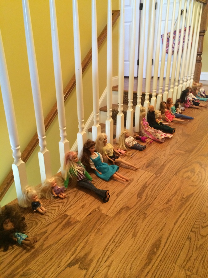 Barbies at Church…Preach, Pastor Chocolate!